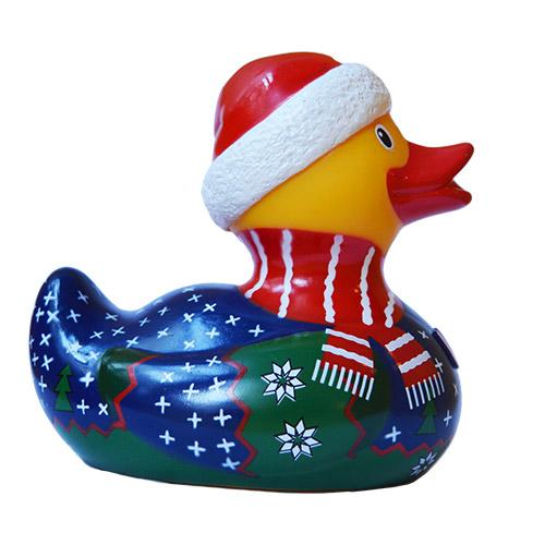 Christmas Jumper Rubber Duck 2