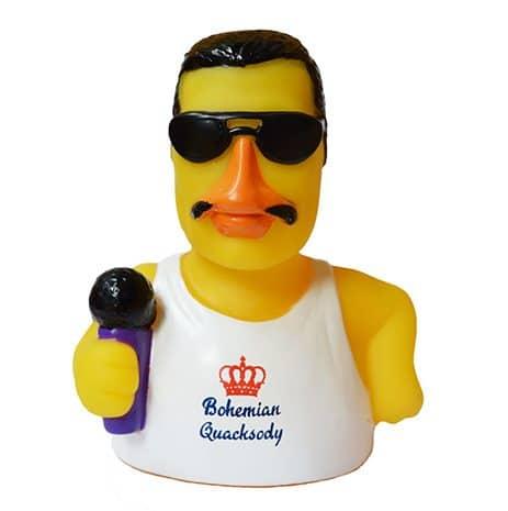 Bohemian Quacksody rubber duck front rome Duck Store e1570195237919