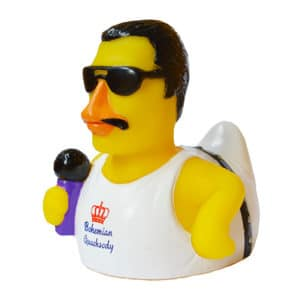 Freddie Mercury Rubber Duck