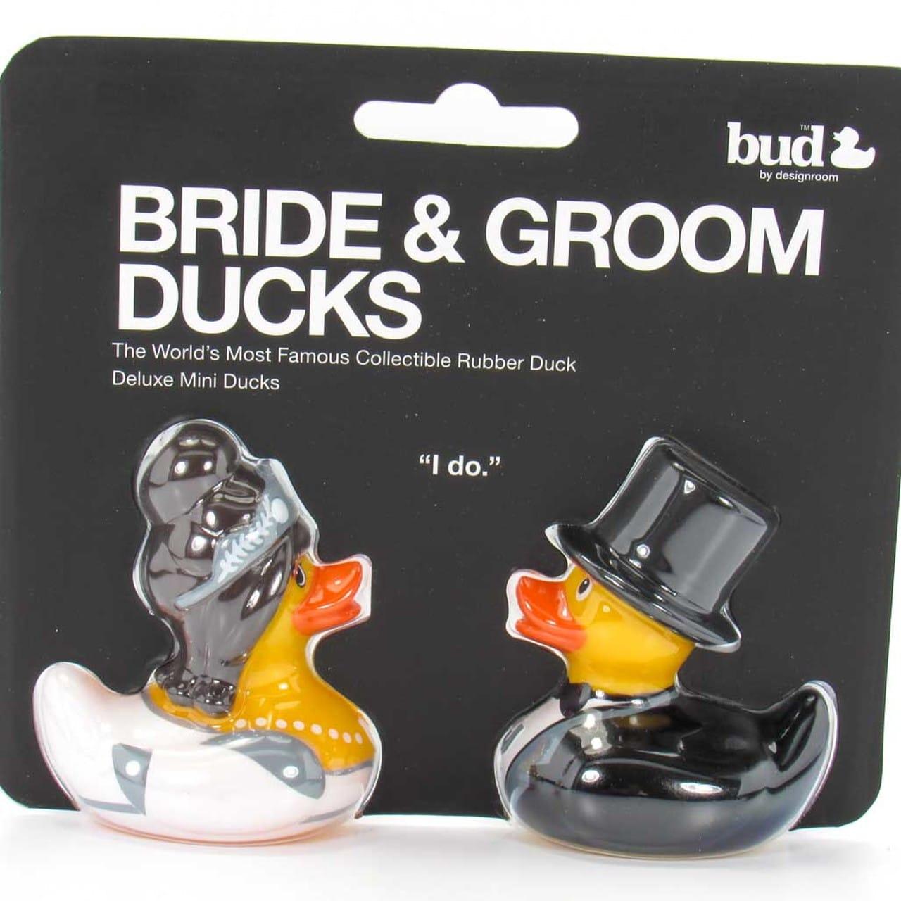 Bride & Groom Rubber Duck