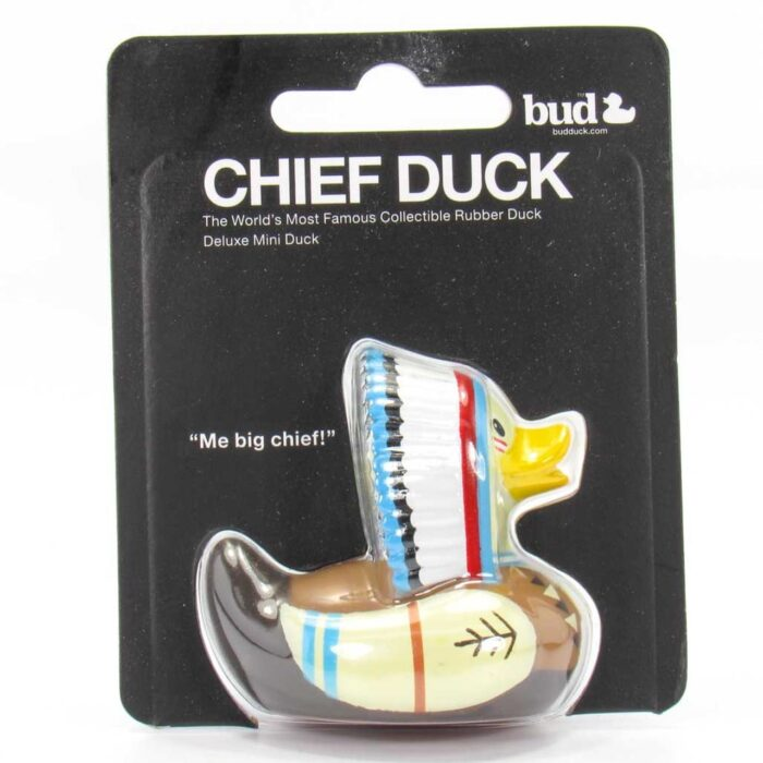 Mini Indian Chief rubber duck
