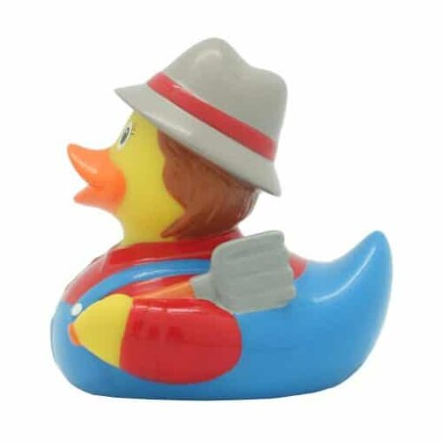 Peasant rubber duck