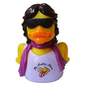 Floating Stone - Mick Jagger Rubber Duck