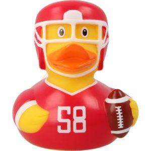 Football-Player-Rubber-Duck-front-Rome-Duck-Store