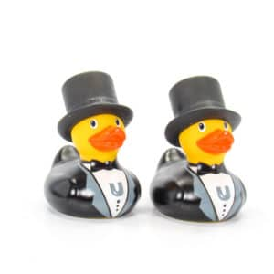 Groom & Groom rubber ducks - Mini Rubber Ducks collection