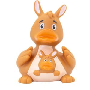 Kangaroo rubber duck