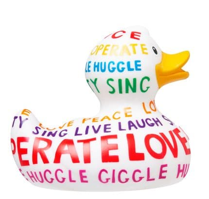 Positive Poem Rubber Duck