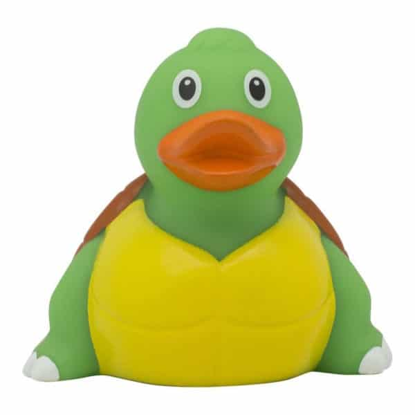 Turtle rubber duck front rome Duck Store