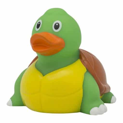 Turtle rubber duck right leaning rome Duck Store 510x510 1