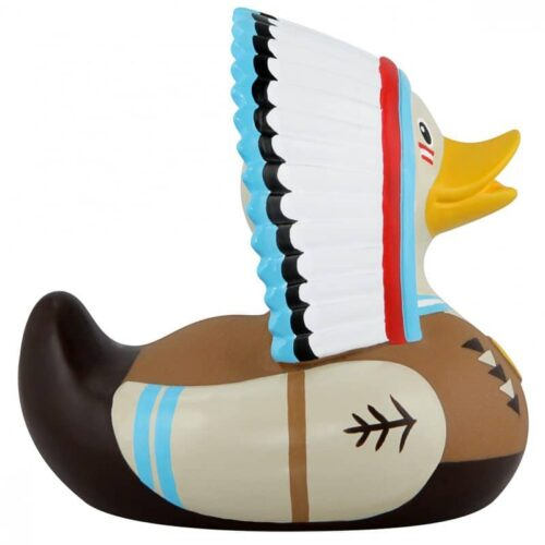 Indian chief rubber duck