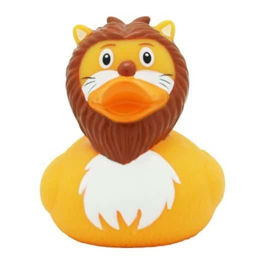 Lion rubber duck
