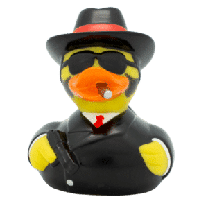 Al Capone Rubber Duck