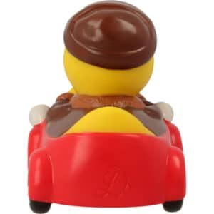 Man in Red car rubber duck
