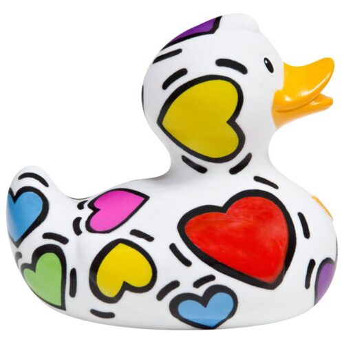 Pop Hearts rubber Duck - Luxury Collection