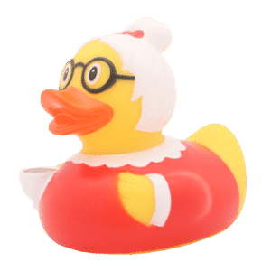 Grandma Rubber duck