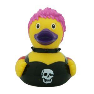 Female Punk Rubber Duck