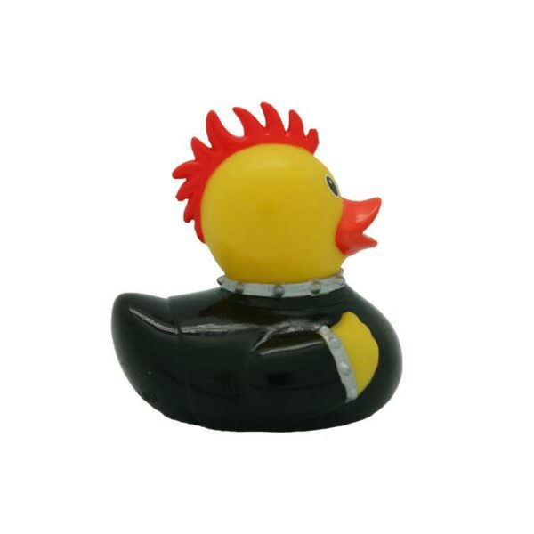 Male Punk rubber duck