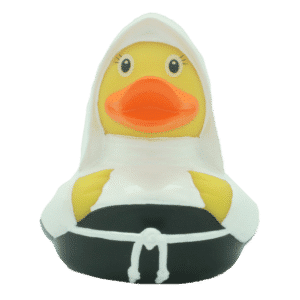Nun rubber duck