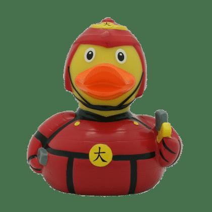 Samurai rubber duck