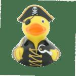 Black Pirate rubber duck