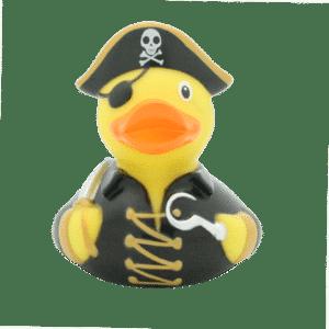Paperella di gomma Pirata Nero