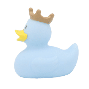 Queen blue rubber duck