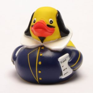 Rubber Duck Shakespeare
