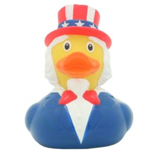 Uncle Sam Rubber Duck