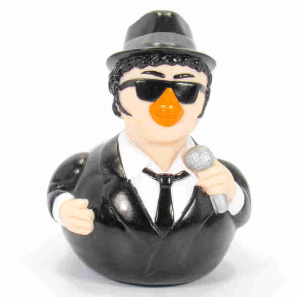 The Blues Brothers Jake Rubber Duck