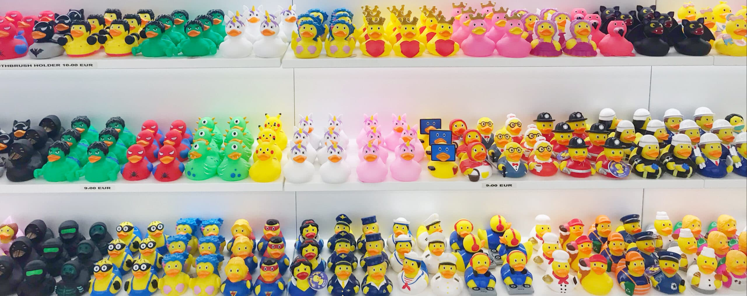 rubber ducks shop Rome Duck store