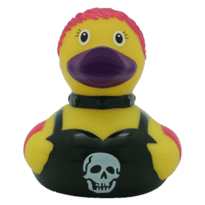 Female Punk Rubber Duck