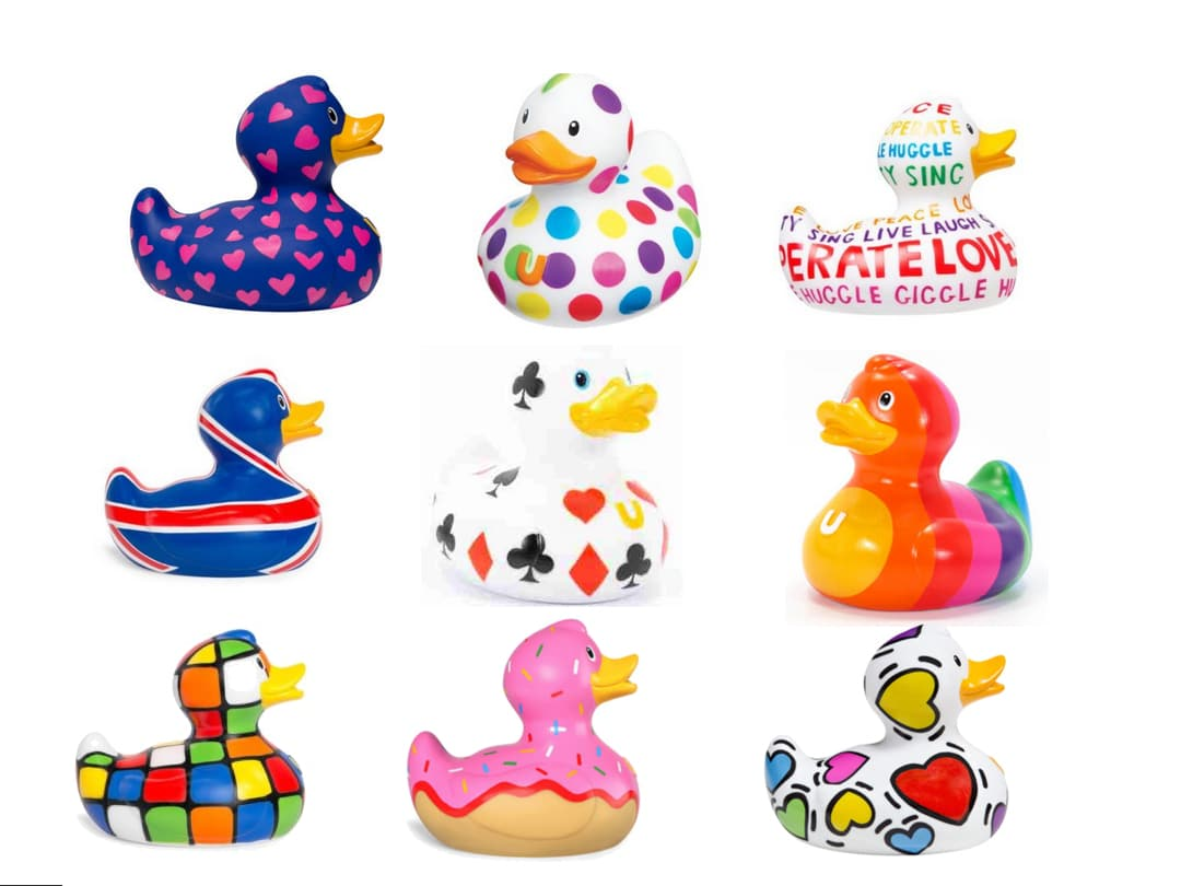 luxury rubber duck