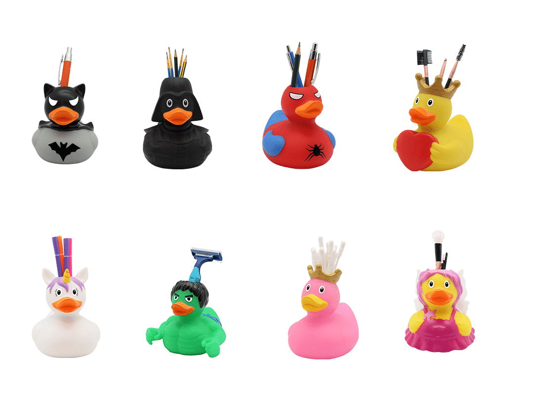 tootbrush holder rubber ducks